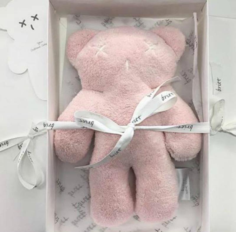 1. Britt Snuggles Teddy