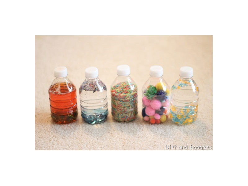 1. Baby discovery bottles