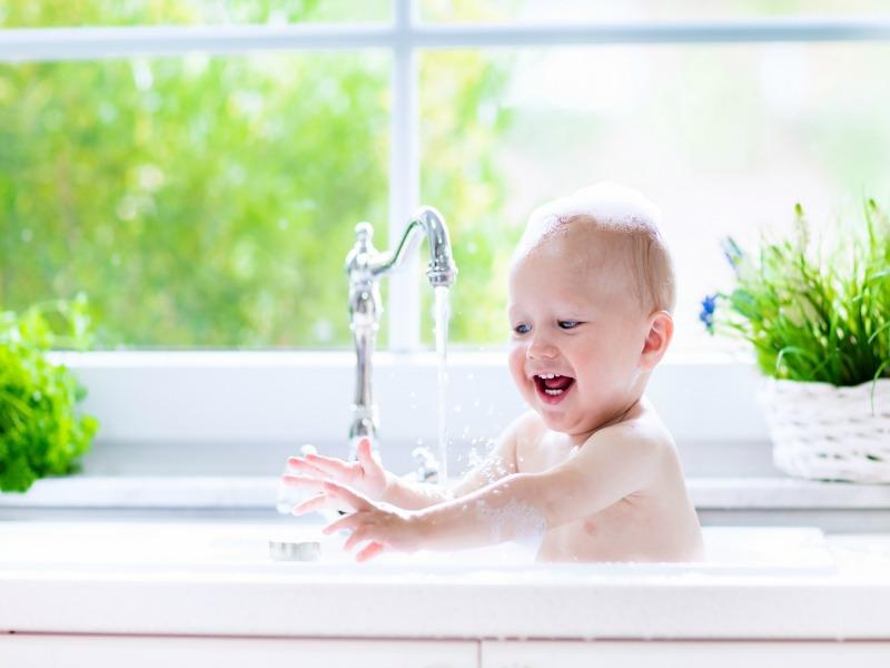 1. The bath