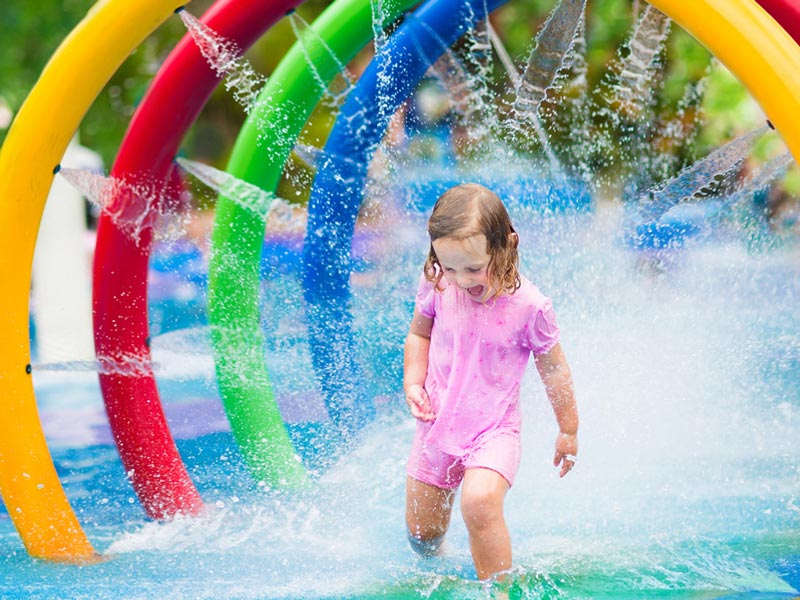 2. Stay in a kid-friendly holiday park