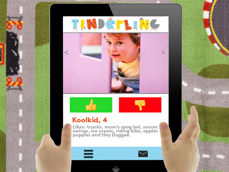 Kinderling kids' app