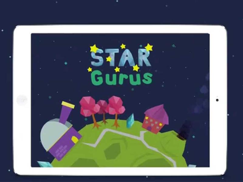 Star Gurus kids' app