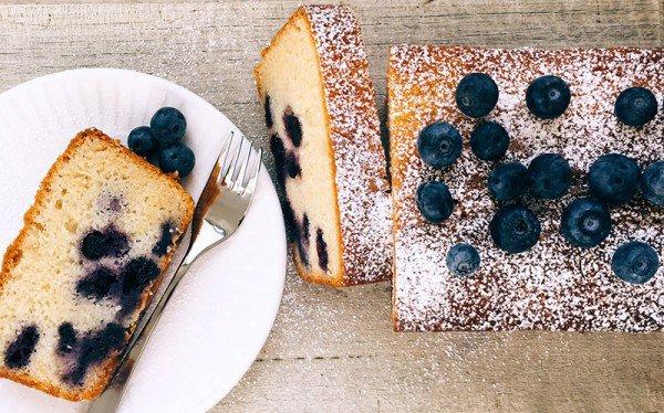 Blueberry yoghurt loaf recipe