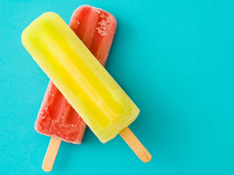 1. Do NOT suck all the flavour out of your Icy Pole or you'll have flavour regret.