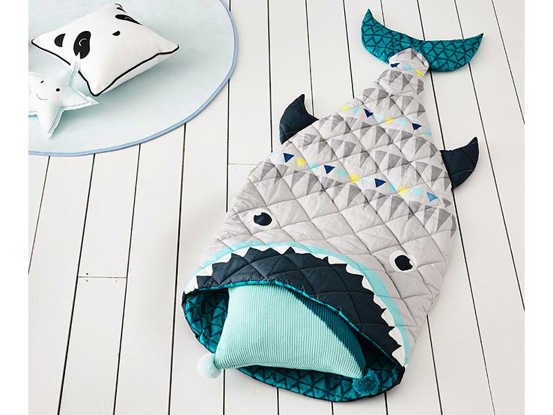 Sleep, not swim with sharks