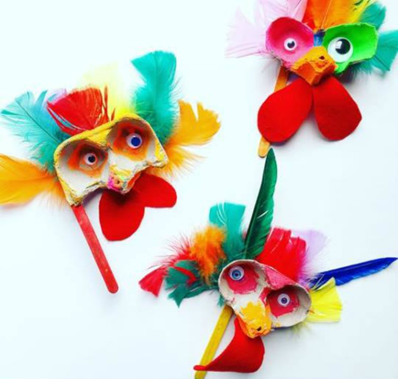 1. Masks and puppets