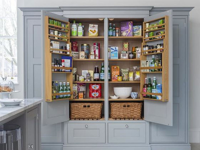 The 'more than just a cupboard' pantry
