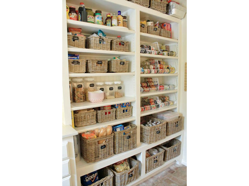 The 'somewhere for everything' pantry