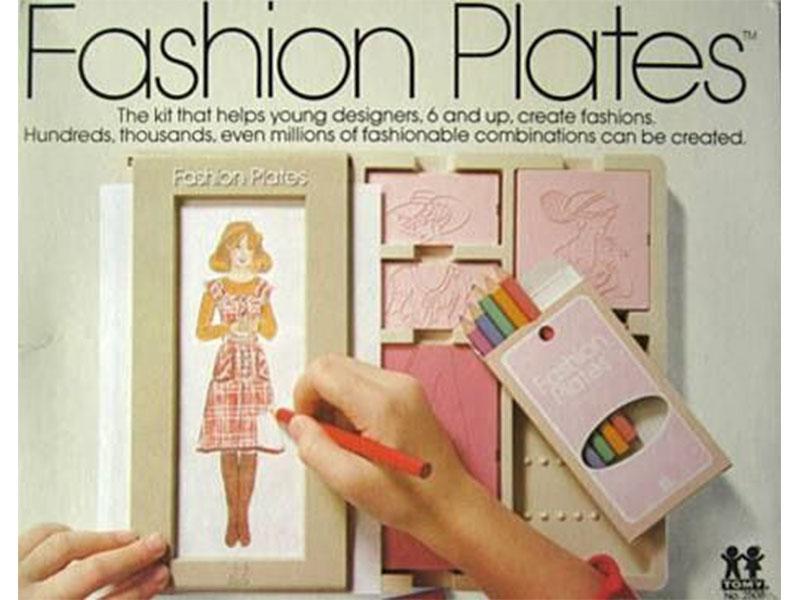 1. Fashion Plates
