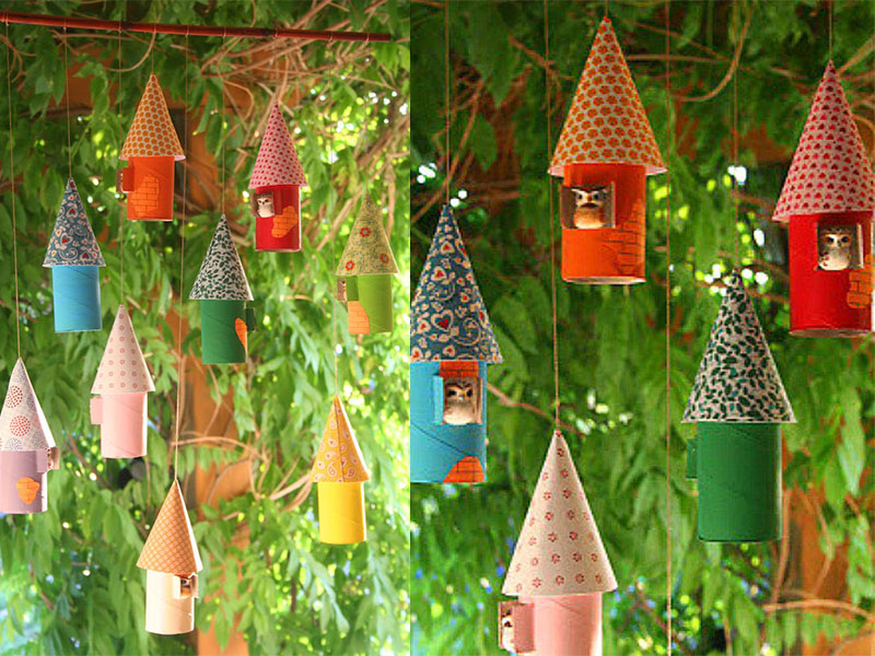 1. Build a little birdhouse