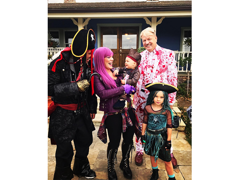 Revealed: The best celebrity family Halloween costumes of 2017