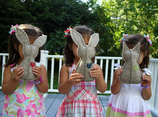 Bunny rattles