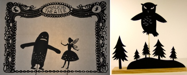 owly shadow puppets
