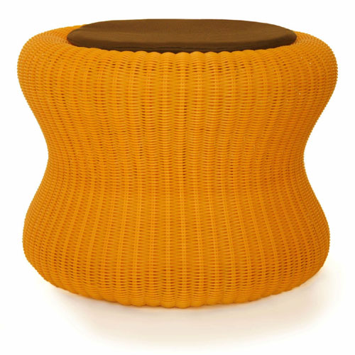 stool orange