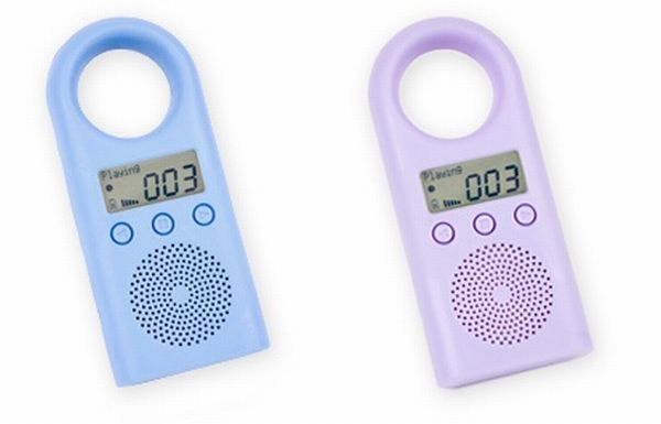 I absolutely am in love with the SweetPea MP3 Player for Kids. The size of this is really nice and the sound is perfect. The size of this is really nice and the sound is perfect. I really liked how easy it was to load music on to the MP3 Player.