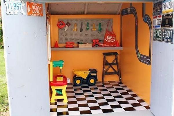 One Little Boy S Amazing Cubby House