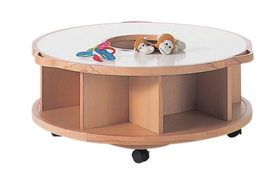 Actus round bookshelf/ storage/ seat