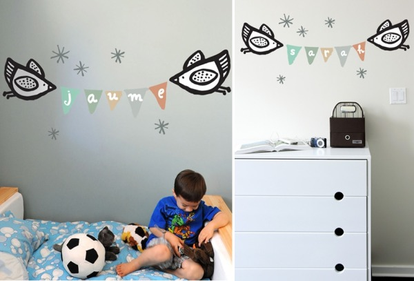 Blik And Wee Gallery Have Cottoned On To The New Craze For Banners In  Nursery Decor! Grab These Charming Decals And Personalise Those Walls With  Beautiful ...
