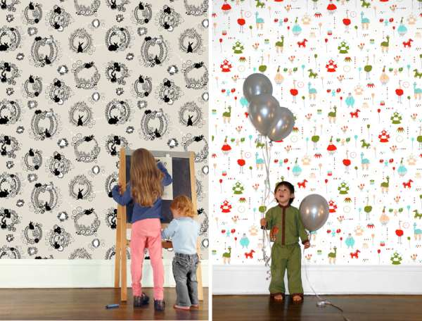 Never has there been a better time for sourcing wallpaper specifically for childrens rooms from modern