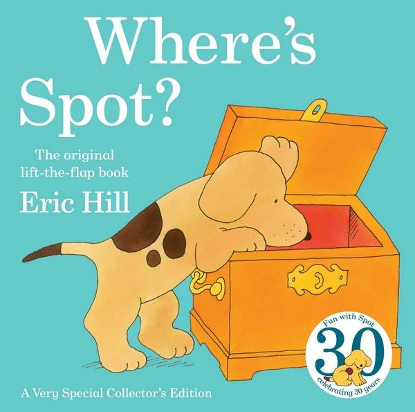 cover of Where's Spot by Eric Hill