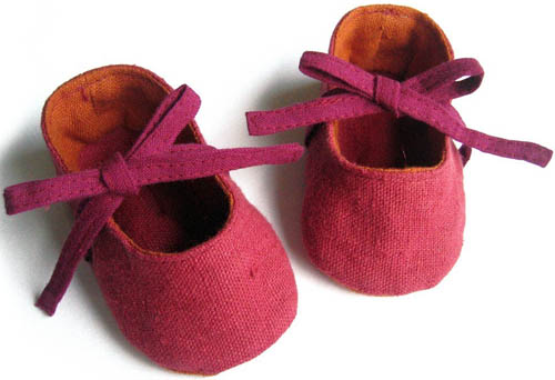 Lala shoes baby booties and baby slippers from Etsy