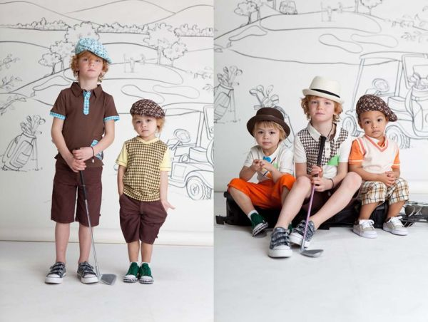 Fore Axel & Hudson shorts, vests, polos and caps