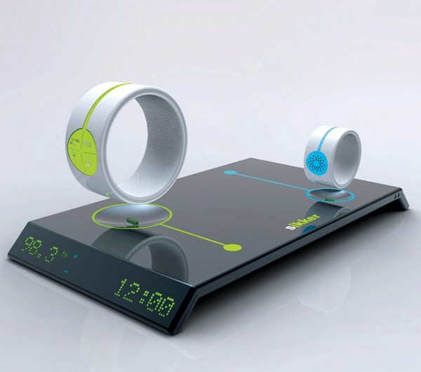 Sikker baby monitor - base unit with adult and baby wrist bands