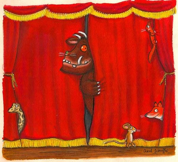 The Gruffalo original artwork