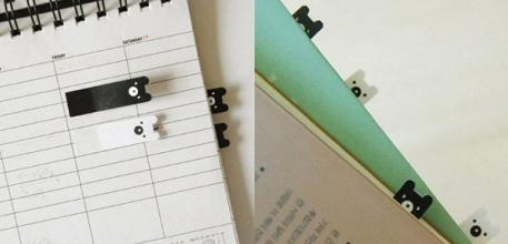 Poketo bear bookmarks