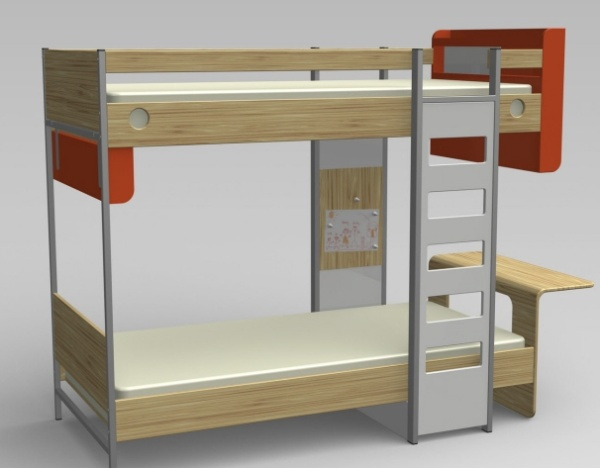 bunk bed joe luker 1 Bunk extravaganza   the best bunk beds on the planet!