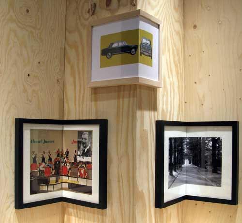 Angled corner frames