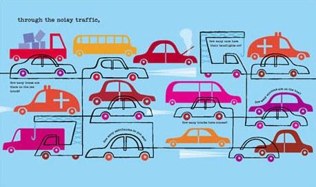 Follow the Line traffic jam