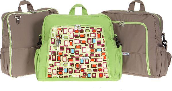 Three Gittabag nappy bags