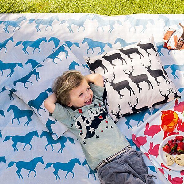Graham and Green animal motif cushions