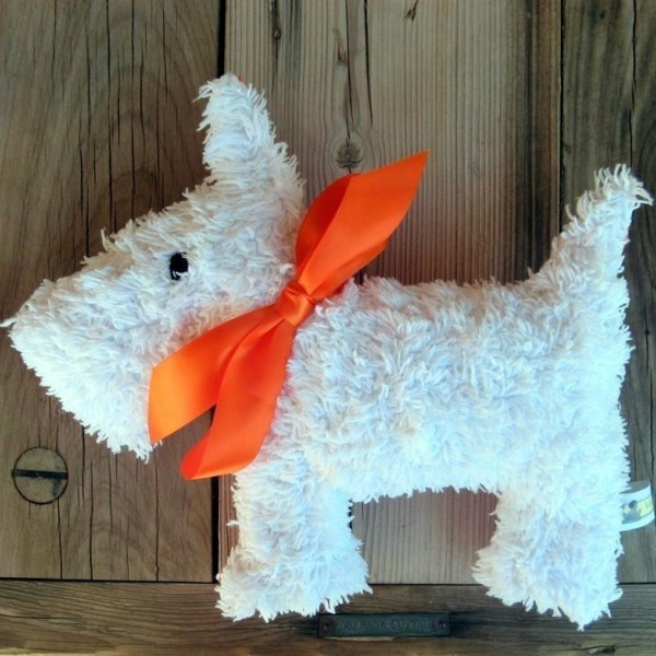 chenille bedspread toys from Leah Littlehales on Etsy