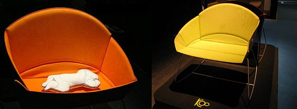 Lunar Koo bassinet and rocker chair