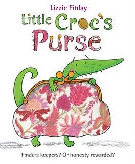 Little Croc's Purse by Lizzie Finlay