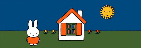 Miffy by Dick Bruna