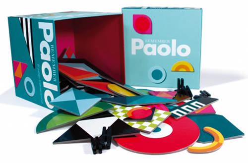 Paolo construction toy, graphic artist Bernd Terwey