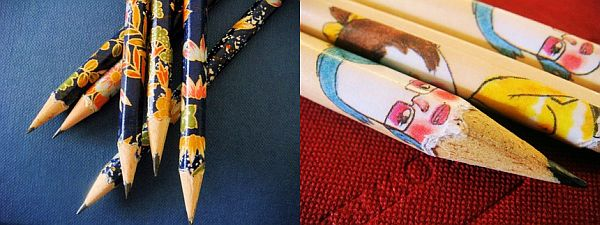 Miss Isa handwrapped pencils