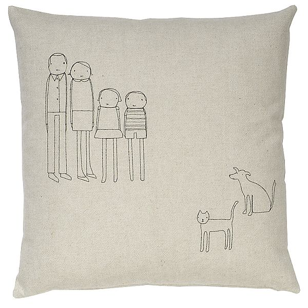 Personalised Family Cushion from Branch
