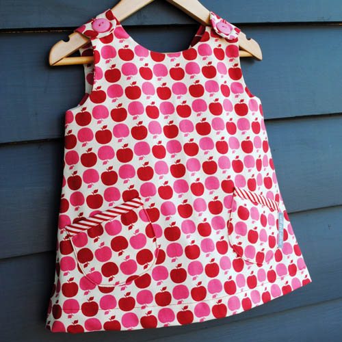 Wolf and Willow Toffee Apple Dress