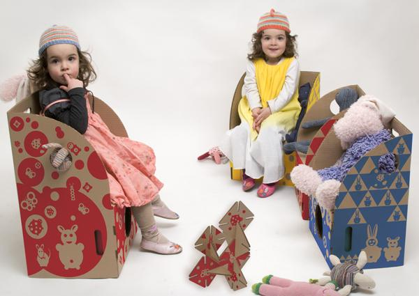 ToyToy cardboard armchairs