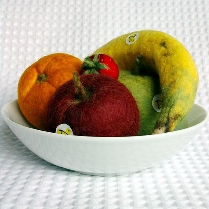 Woolly Duck fruit bowl