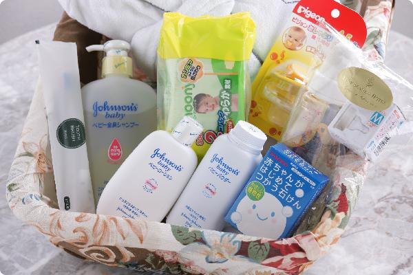 Four Seasons baby care package