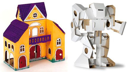 cardboard craft kits