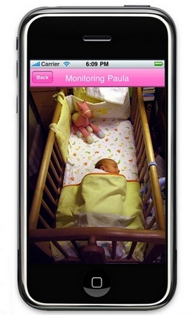 Baby Safe iPhone baby monitor