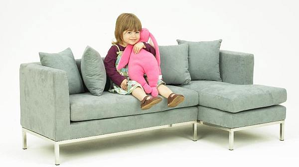 Boom Child's modern sofa