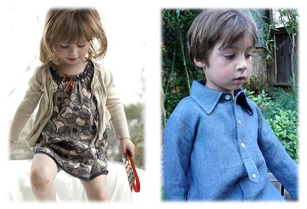 Dagmar Daley clothes for boys and girls