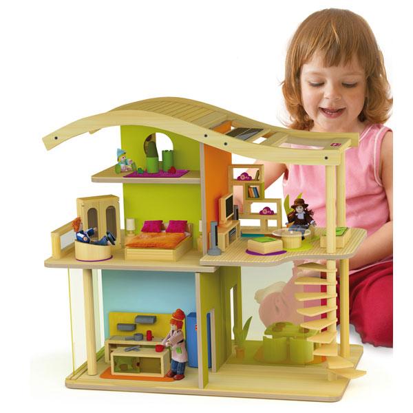 Bamboo Sunshine Eco Dollshouse
